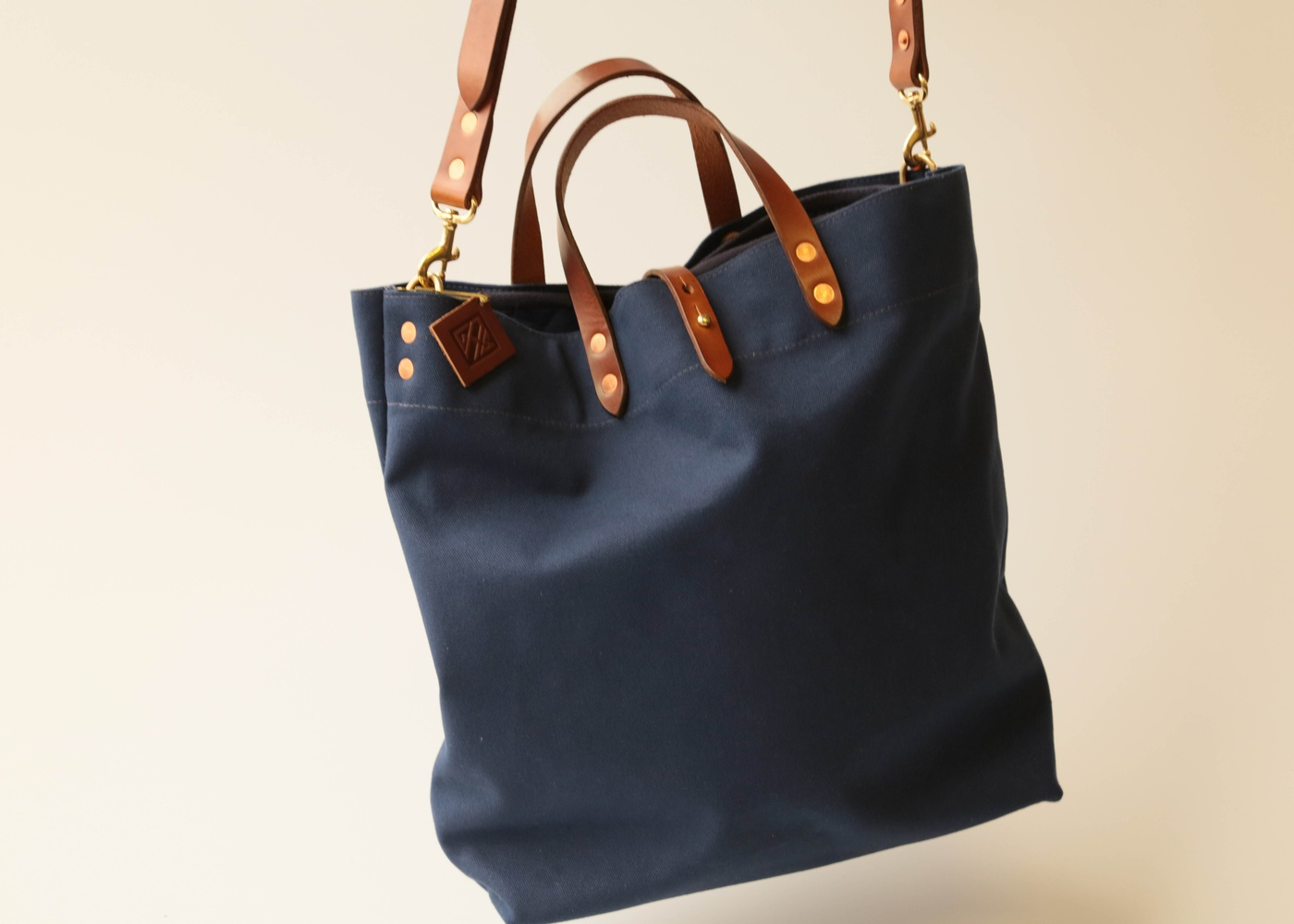 GAS GTG Mark III Tote Bag Snowflake Blue nyc