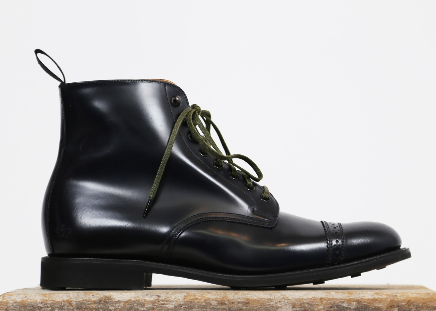 Sanders Military Punched Toe-cap Derby Boot's nyc