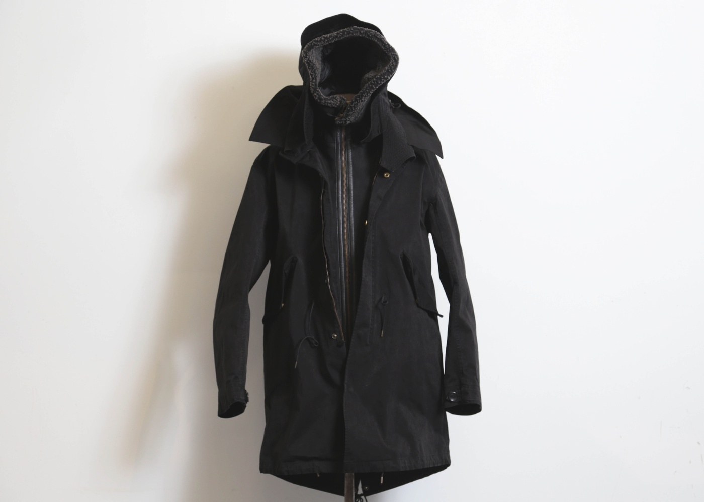 TEN C PARKA FISHTAIL WITH HOODED LINER nyc