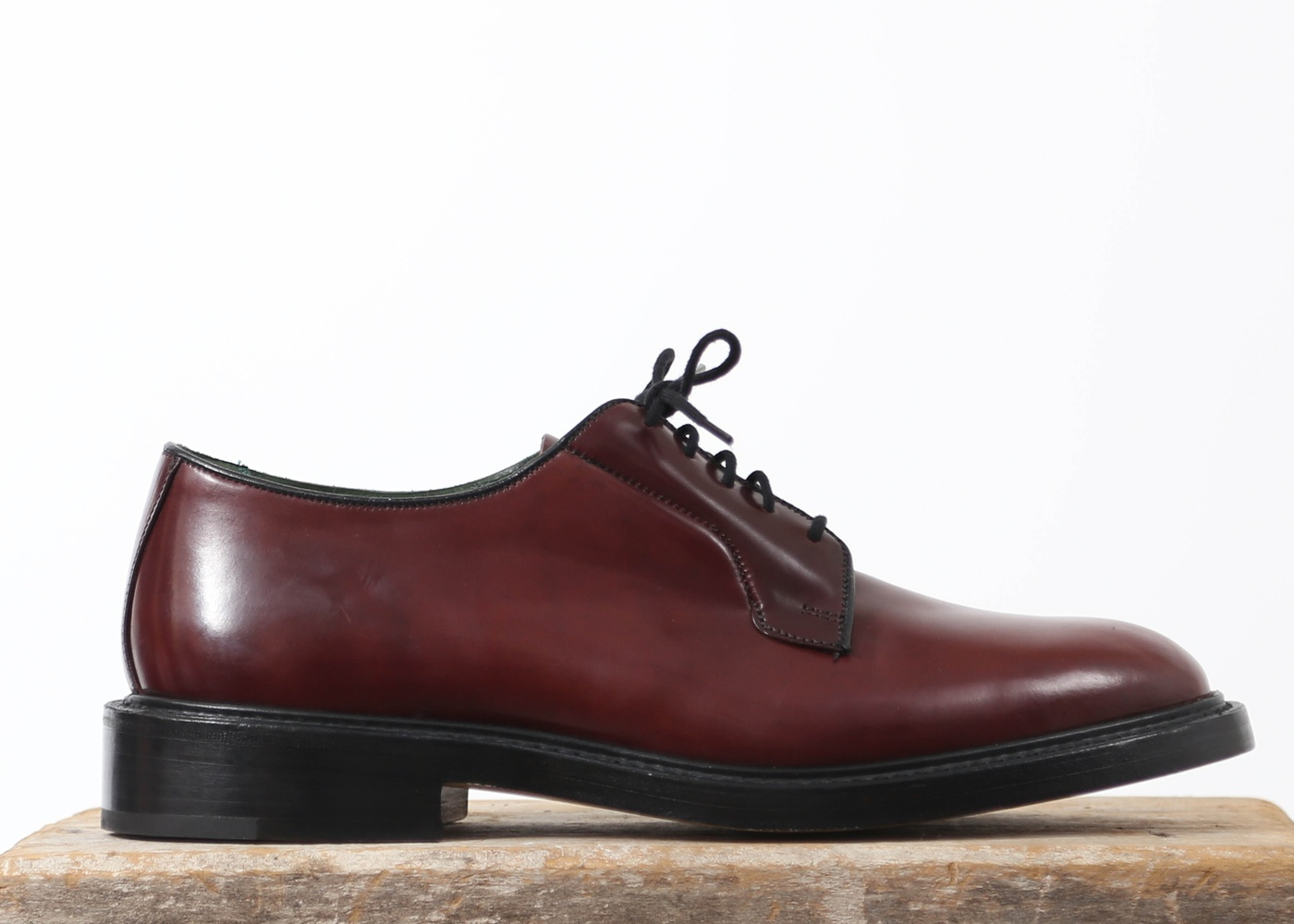 Men's Burgundy Cordovan Derby Shoe nyc